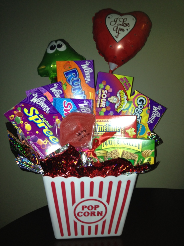 Handmade Gifts Baskets : Best images about valentines day basket on