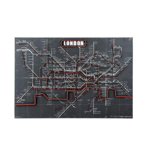 Decoración de pared metro Londres ...                                                                                                                                                                                 Más