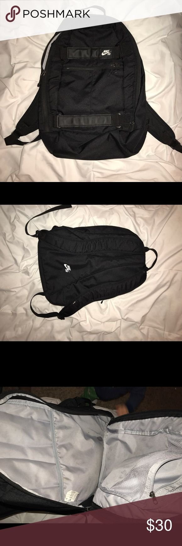 Nike SB Backpack Nike SB Backpack in good condition and it has couple stains inside but everything else is in good condition Nike Other