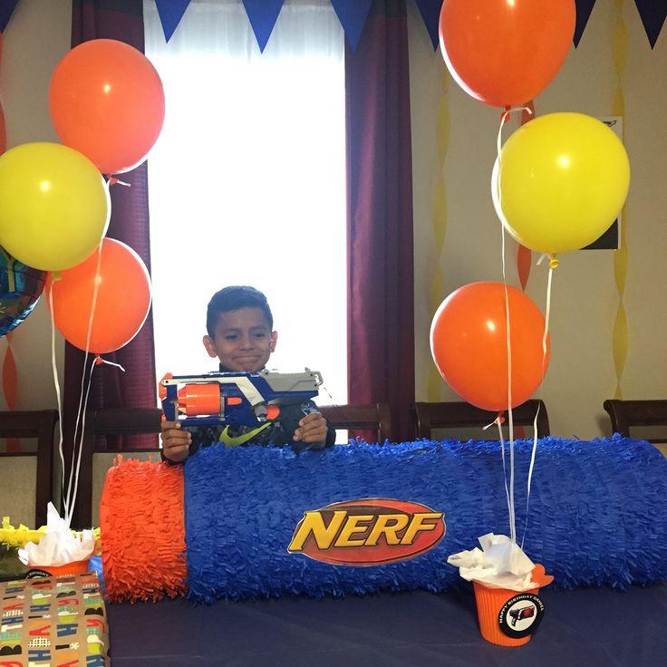 Nerf Pi 241 Ata Kids Party In 2019 Nerf Birthday Party
