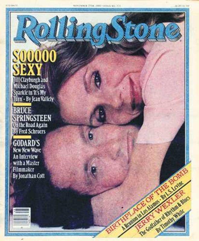 RS331: Jill Clayburgh & Michael Douglas Annie Leibovitz Rolling Stone Issue 331 (November 27, 1980)