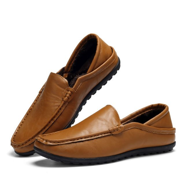 <b>Brand Men Casual Shoes</b> Leather Loafers Mens Casual Moccasins ...