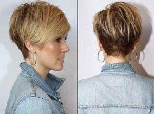 cortes de pelo corto y rubio muy frescos http