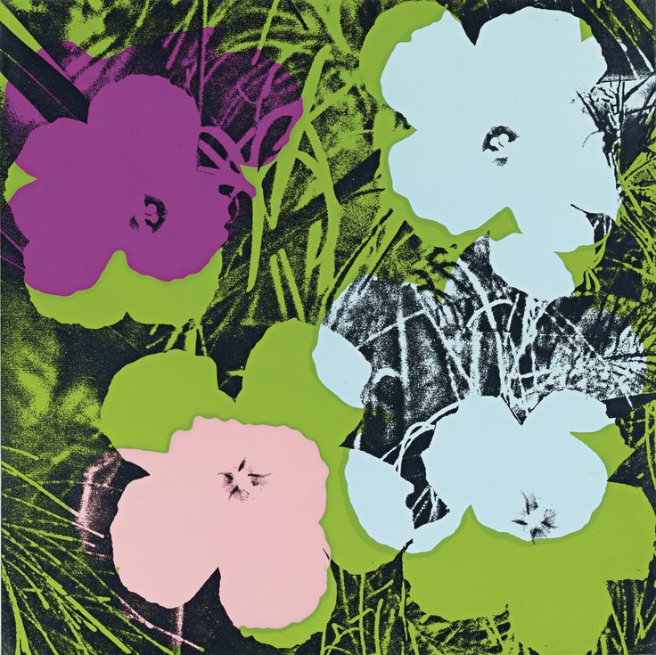 andy warhol flowers - Google Search