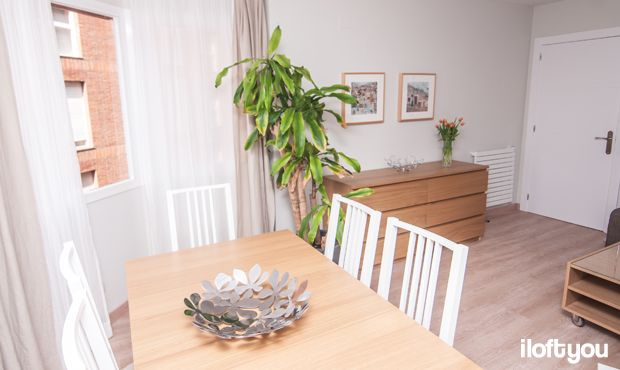 #proyectobonanova2 #iloftyou #interiordesign #ikea #barcelona #lowcost #diningroom #bjursta #matilda #borje #livingroom #boksel #malm #kivik