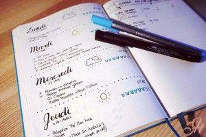 5 astuces pour faire de son Bullet Journal un agenda pratique qui nous ressemble...