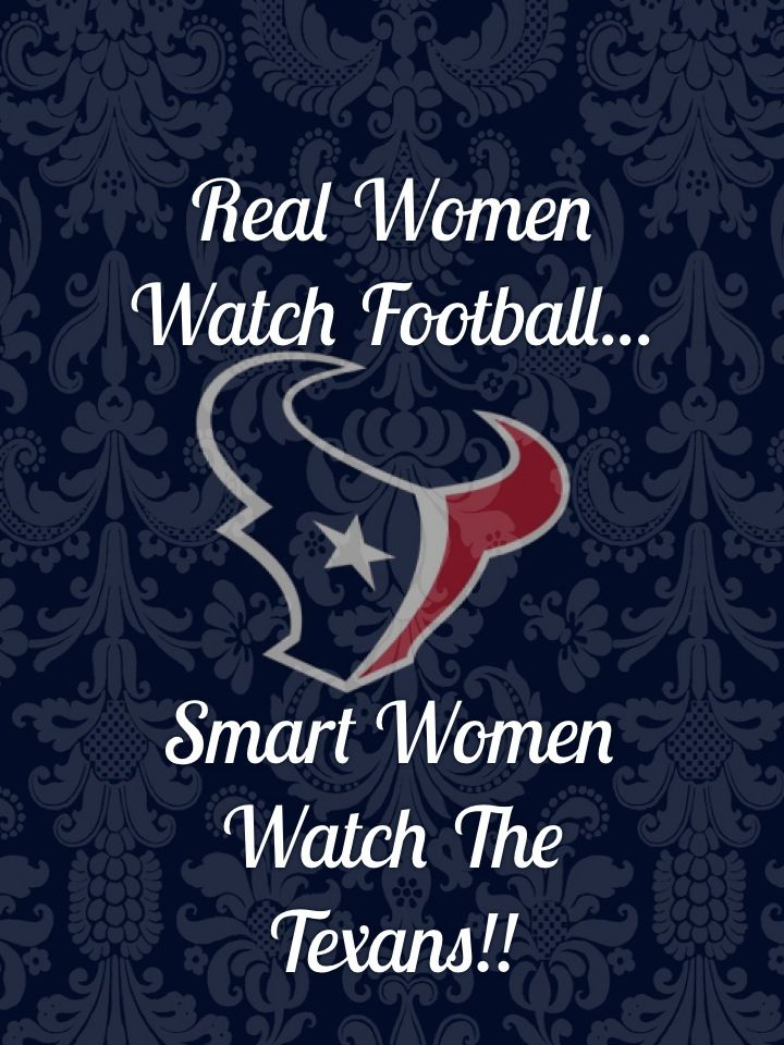 Proud of my Texans! No doubt about that!Houston Texans!