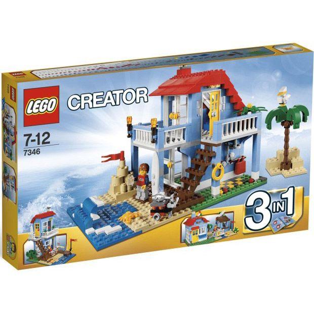 Đồ chơi LEGO 7346 Seaside House – Ngôi nhà bên bờ biển