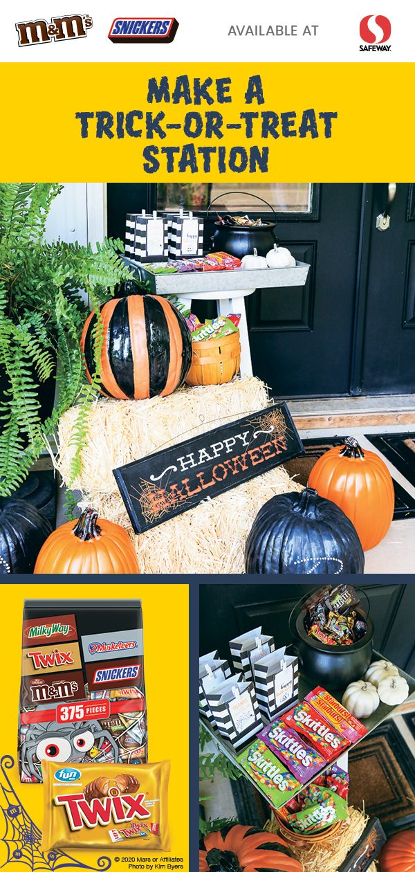 Safeway Halloween Decorations.Trick Or Treating Is A Favorite Halloween Tradition That You Can Still Make Accessible And Safe This Halloween Coupons Halloween Chocolate Halloween Party Kids