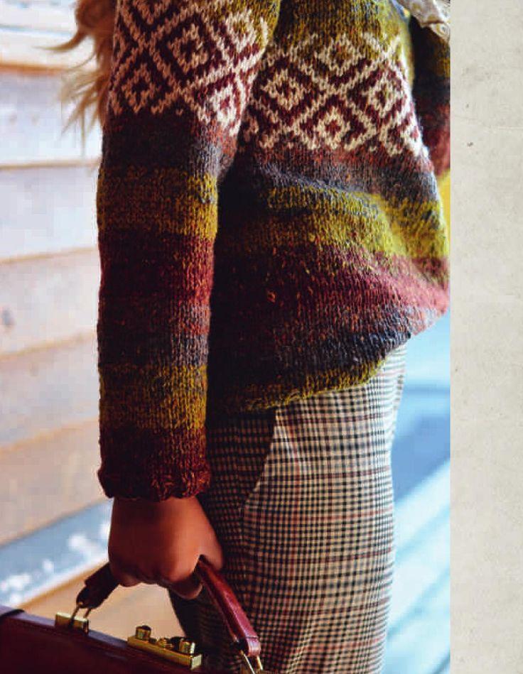 Et must i strikkeboksamlingen! Flotte oppskrifter til både dame, herre og barn.