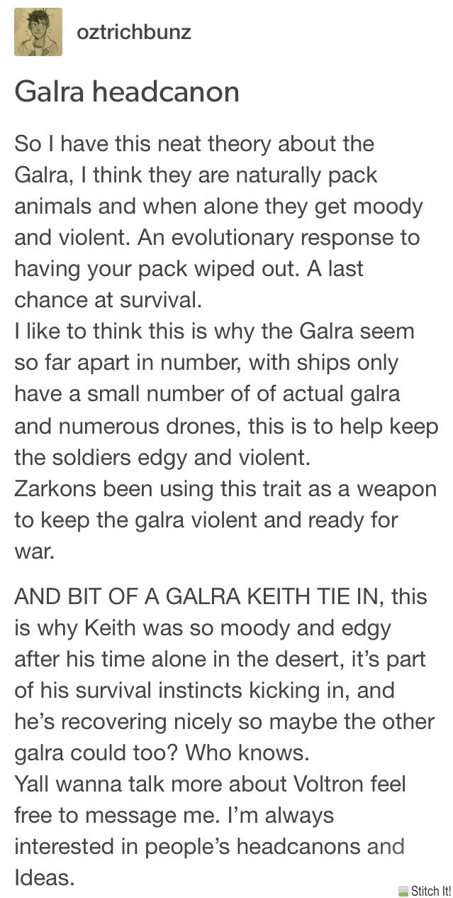 The bottom part is true, feel free to comment your headcannons -Katie