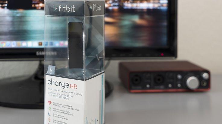Fitbit Charge HR Unbox & Setup