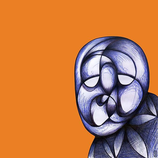 #mask #abstracthead #abstractface #fiji #samserif