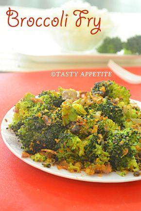 BROCCOLI FRY - BROCOLLI STIR FRY RECIPE / EASY BROCCOLI RECIPES / STEP BY STEP, brocoli with besan, brocoli garlic fry, how to cook broccoli, easy broccoli stir fry recipe, Broccoli Stirfry recipe, Indian Broccoli Recipe, Broccoli stir fry, delicious Simple broccoli fry Recipe, step by step, tasty appetite, Quick and easy broccoli stir fry, nutritious facts of broccoli