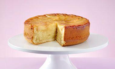 Oliver Peyton's pear upside-down cake
