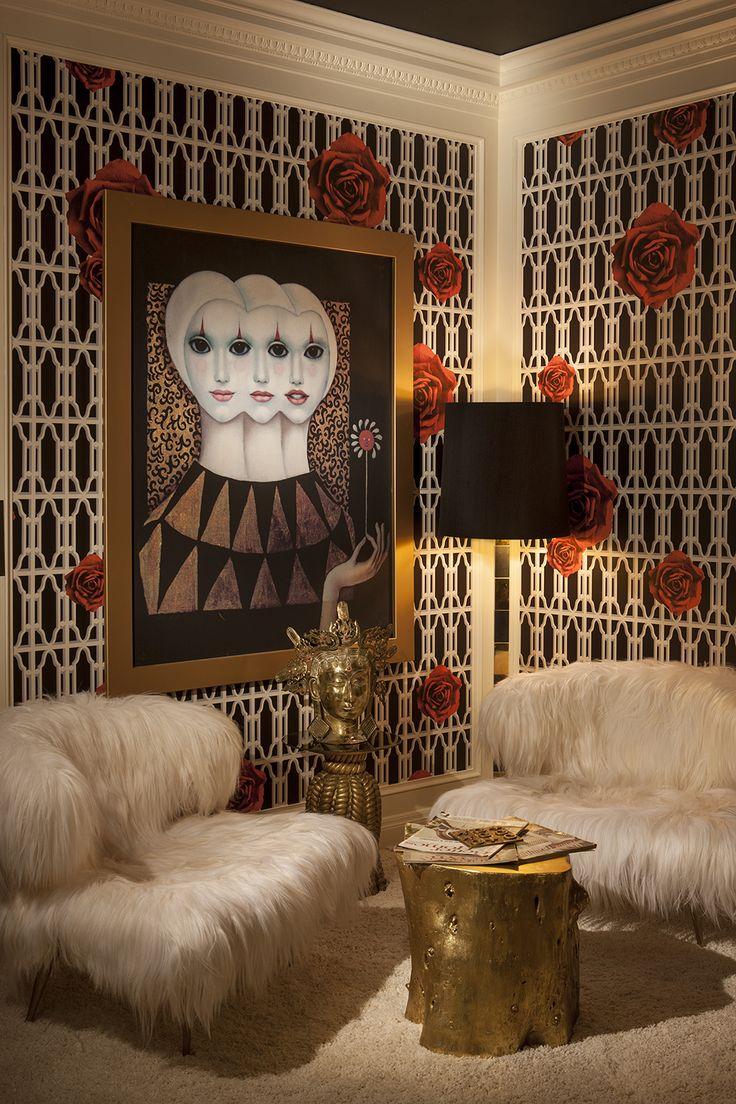 Wallpaper For Living Room 2013 127 best hollywood regency images on pinterest | home