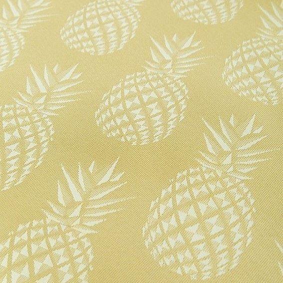 🍍HELLO SUMMER!🍍#hotelhomeaust #upholstery #fabric #pineapple #pineapplesand #hoteldesign #interiordesign #cushion #hotelbed