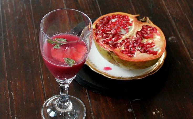 Milkshake pomegranate |  Miraculous properties