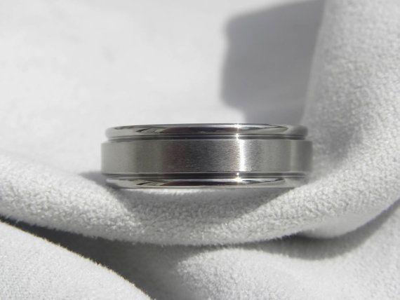 Titanio anillo anillo de bodas para hombre boda por titaniumknights