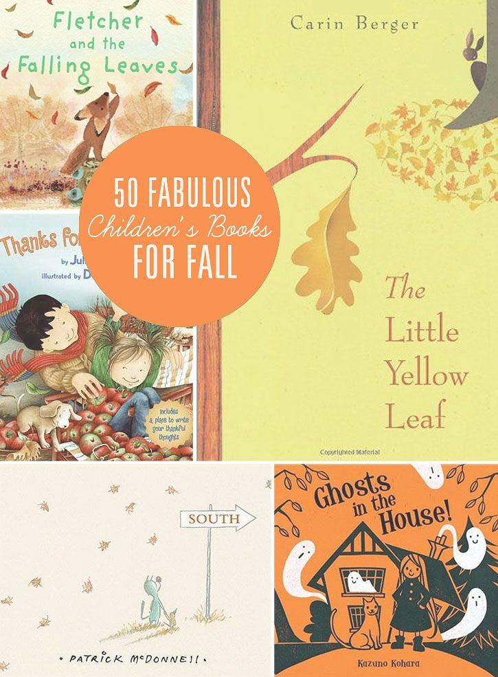 50 Fabulous Children's Books for Fall