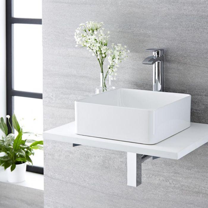 Aufsatzwaschbecken Quadratisch 360mm X 360mm Alswear Aufsatzwaschbecken Modern Design
