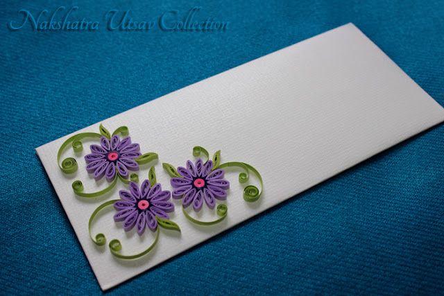 Nakshatra Utsav Collection: NUC_paper quilling_gift envelopes_025
