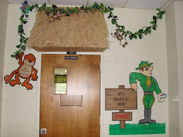 Classroom Decor Jungle ~ Best preschool jungle images on pinterest classroom