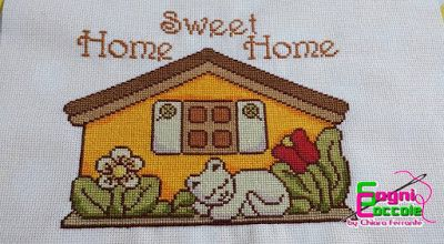 "Sogni e Coccole: Casetta ""Home Sweet Home"" simil Thun"
