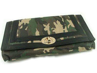 Stoere clutch tas camouflage legerprint  - SMADA® Trading
