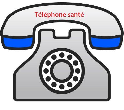 SANTE : Téléphone Urgence (Médécins garde, Antipoison, SAMU...)