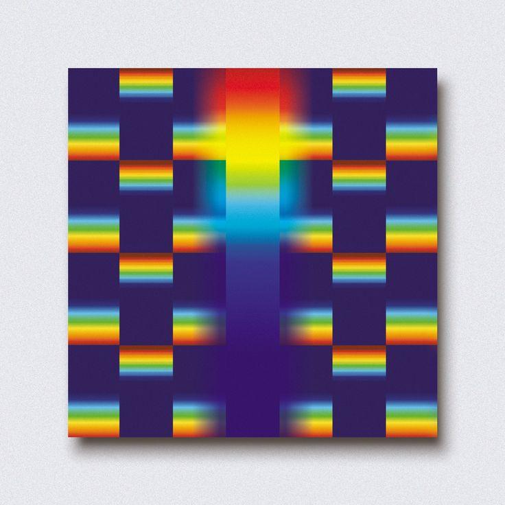 """""""coloriz"""" by Amel Segré. Exciz6, la dimensión geométrica. #abstrac #art #conceptual"""