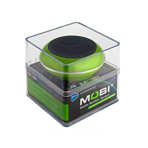 Mobi - Enceinte compacte pour PC/Smartphone/tablette - Vert : en vente sur RueDuCommerce