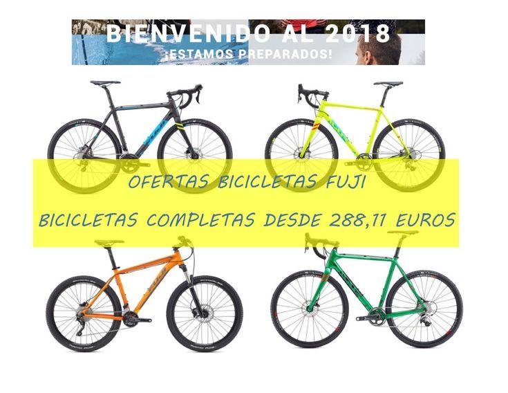 Ofertas bicicletas Fuji 2017 con descuentos de hasta el 30%