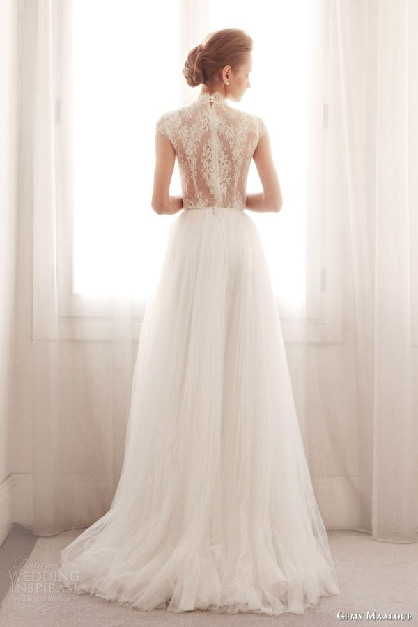 Pretty back! Wedding Inspirasi
