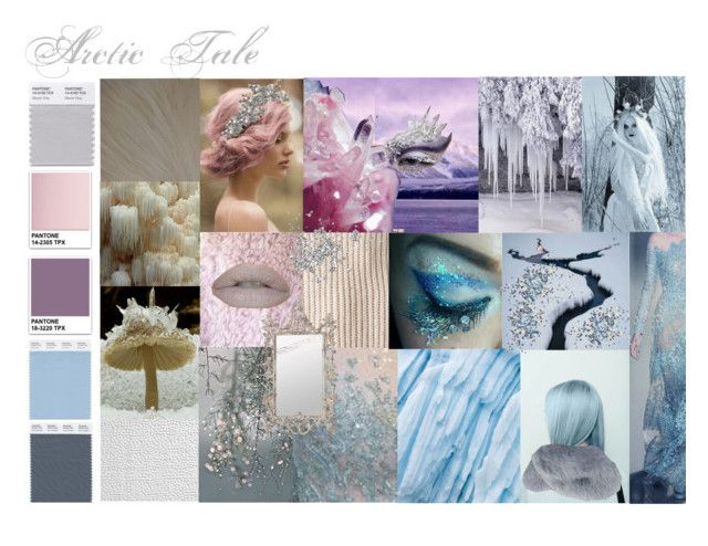 """""""Arctic Tale Mood Brainstorming"""" by melaccamarina on Polyvore featuring arte"""