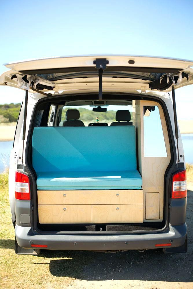 Van With Bed In Back Back Seat With A View Rock And Roll Bed In