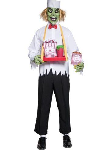 Cirque sinister depraved concession man costume