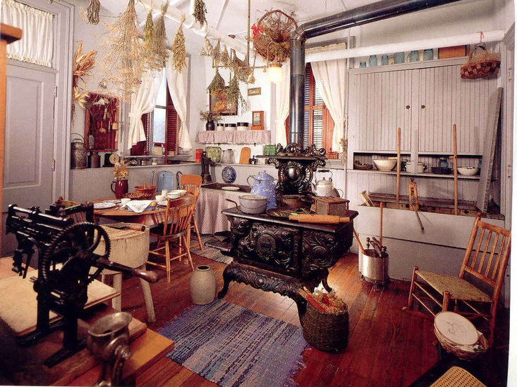 Old Fashioned Kitchen! Luv It : )