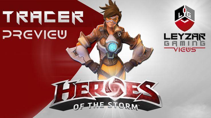 Heroes of the Storm (HotS News) - Tracer Abilities & LvL 10 Talents (Sli...