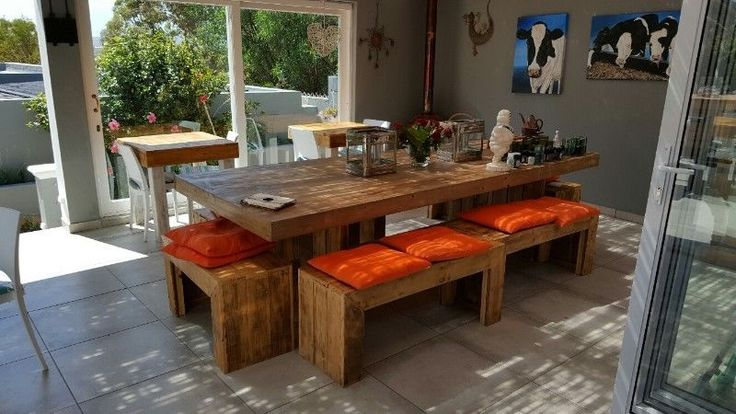 Get yourself something exclusive and unique at www.ccreations.co.za We create a wide range of stunning hand made pallet furniture for that different look and feel. Mail us for a price list and visit our website or Facebook page.