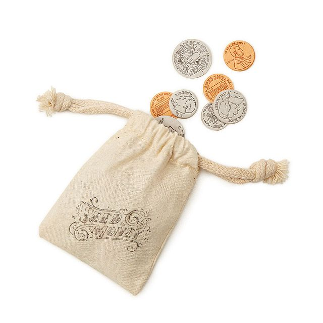 Seed Money ($13): Nope, money still doesn't grow on trees, but throw these coins in some soil and watch your favorite herbs grow!