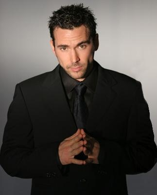 ummmm WOW... Jason David Frank, the green/white/whatever else Power Ranger.... definitely cleans up NICE!