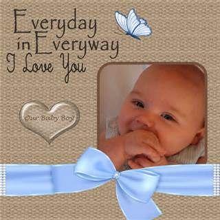 Baby Boy Scrapbook Layouts - Bing Images