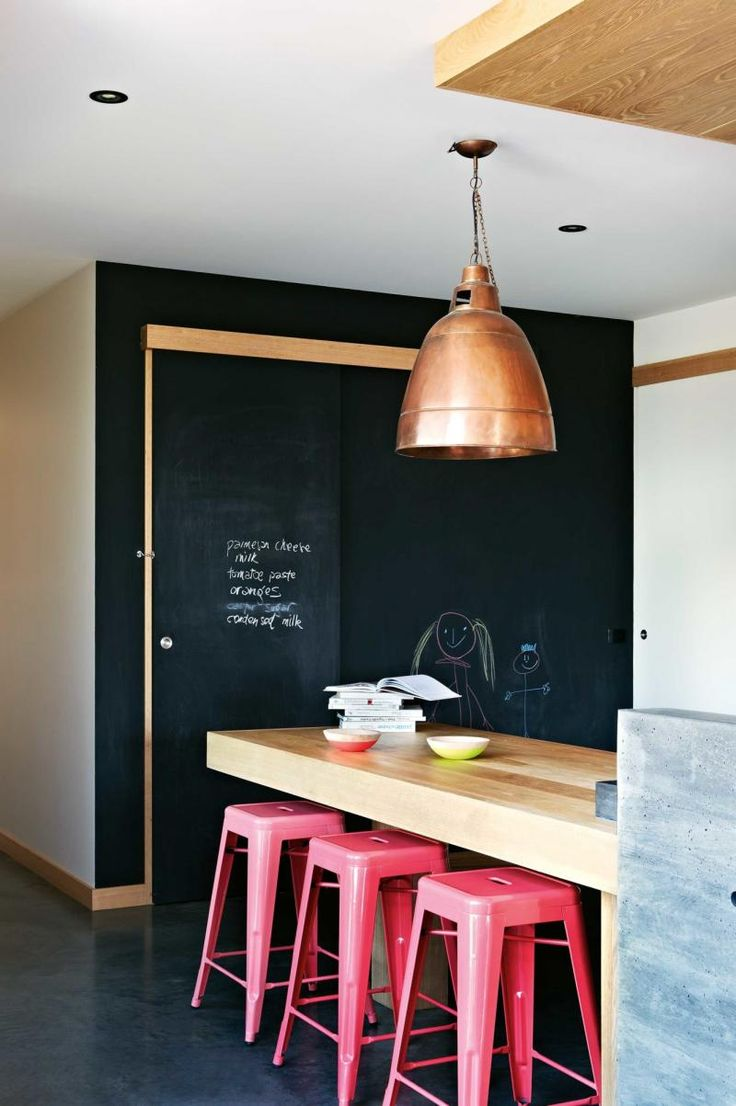 kitchen-red-stools-blackboard-wall-summer-ent13