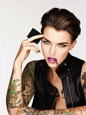 Urban Decay s'offre le top model Ruby Rose http://www.fashions-addict.com/Urban-Decay-s-offre-le-top-model-Ruby-Rose_408___16668.html #model #rubyrose