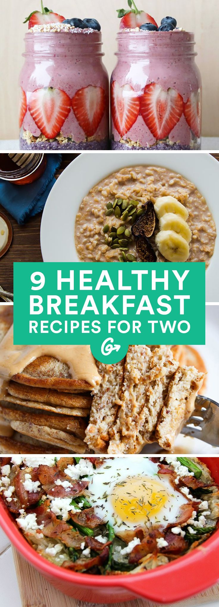 Impress your breakfast buddy with one of these hearty recipes. #healthy #breakfast #recipes http://greatist.com/eat/healthy-breakfast-recipes-for-two