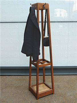 """adapt stand, something like this, to which the wrought iron """"book holder"""" would attach as its hooks"""