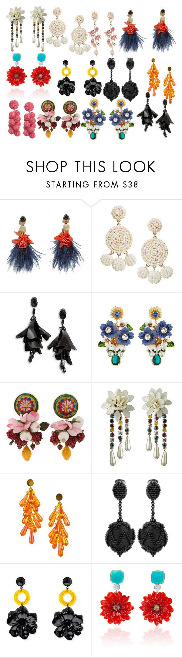 """""""Untitled #10"""" by andrea-noches on Polyvore featuring Lizzie Fortunato, Humble Chic, Oscar de la Renta, Dolce&Gabbana, Bahina and WithChic"""