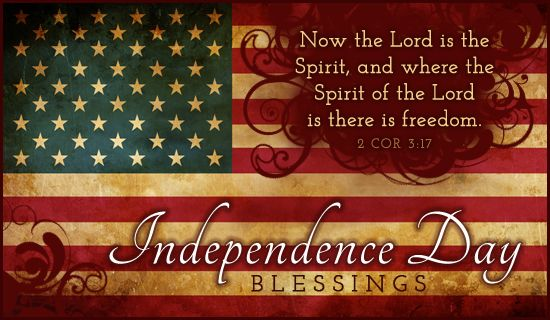 Now the Lord is the Spirit, and where the Spirit of the Lord is there is freedom.  2 Corinthians 3:17