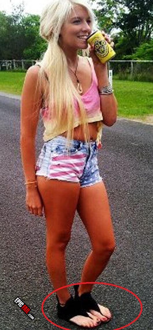 Teen Redneck Feet 13